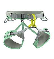 Edelrid Jayne - imbrago basso per arrampicata - donna, Green/Grey