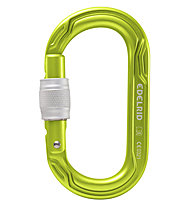 Edelrid Oval Power 2500 Screw - moschettone, Green