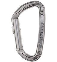 Edelrid Pure Slider - moschettone, Silver