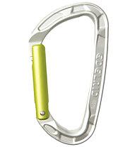 Edelrid Pure Straight - Karabiner, Silver/Yellow