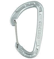 Edelrid Pure Wire - moschettone, Silver