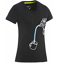 Edelrid Rope II - T-shirt - donna, Black
