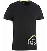 Edelrid Rope II - T-shirt - Herren, Black