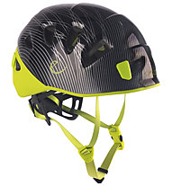 Edelrid Shield- Kletterhelm, Black/Green
