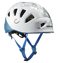 Edelrid Shield- Kletterhelm, White/Blue