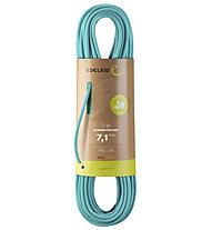 Edelrid Skimmer Pro Dry 7.1 mm - Halbseil/Zwillingsseil, Blue