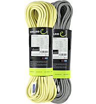 Edelrid Sting II 8,3 Dry 2 pack - mezza corda, Grey/Yellow
