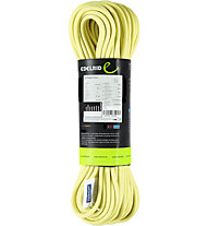 Edelrid Sting II 8,3 mm - mezza corda, Yellow