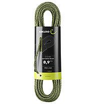 Edelrid Swift Protect Pro Dry 8,9 - corda singola, Green