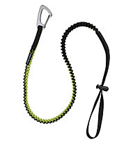 Edelrid Tool Safety Leash - fettuccia elastica per materiale, Black/Green
