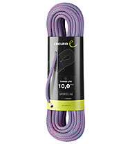 Edelrid Tower Lite 10,0 mm - corda singola, Purple