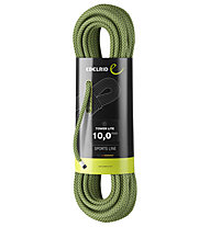 Edelrid Tower Lite 10,0 mm - corda singola, Red