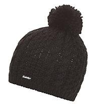 Eisbär Afra Pom pon - Mütze - Damen, Black