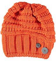 Eisbär Cullen OS Kinder-Wollmütze mit Merinowolle, Orange