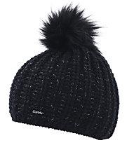 Eisbär Enisa Lux - Mütze - Damen, Black