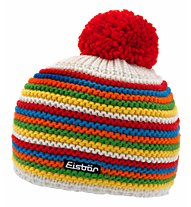 Eisbär Fan Merino-Wollmütze, Red/Yellow/White