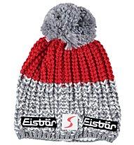 Eisbär Berretto Focus SP, Light Grey/Red