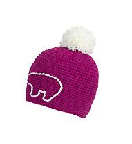 Eisbär Jay Pompon - berretto - bambino, Pink/White