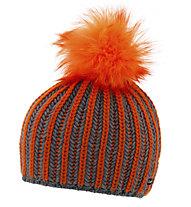 Eisbär Tabea Lux Damenmütze, Orange