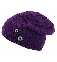 Eisbär Tris OS Merino-Wollmütze, Violet