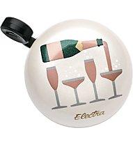 Electra Champagne - campanello bici, White