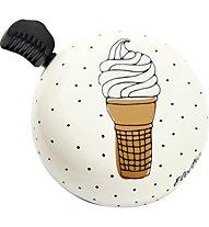Electra Ice Cream - campanello bici, White/Yellow