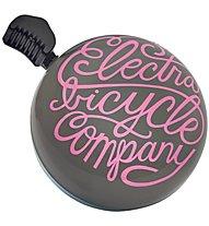 Electra Script - campanello bici, Black/Pink