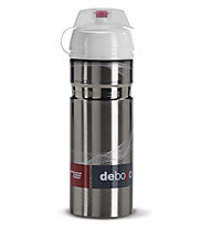 Elite Deboyo Inox 500ml - borraccia bici, Silver