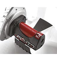 Elite Qubo Fluid - rullo bici, White/Red