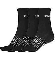 Endura Coolmax® Race Sock (Triple Pack) - Radsocken, Black