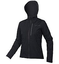 Endura Hummvee Waterproof Hooded - giacca ciclismo - donna, Black