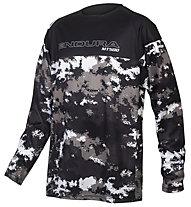 Endura Kids MT500JR Jersey - maglia mtb - bambino, Black/Grey