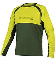 Endura MT500 Burner - Mountainbikeshirt langarm - Herren, Green