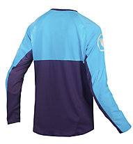 Endura MT500 Burner - Mountainbikeshirt langarm - Herren, Blue