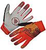 Endura SingleTrack Windproof - guanti mtb, Red