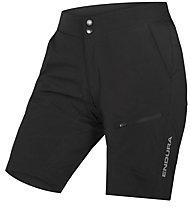 Endura Women's Hummvee Lite Short with Liner - pantaloncino mtb - donna, Black