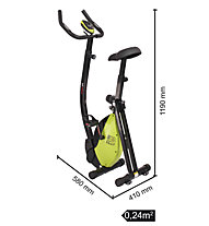 Everfit BFK Easy Slim Multifit Hometrainer, Black