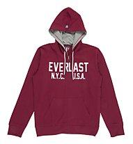 Everlast Authentic - Pullover mit Kapuze Fitness - Herren, Red