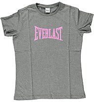 Everlast Basic Line Jacklyn - T-Shirt, Anthracite/Pink