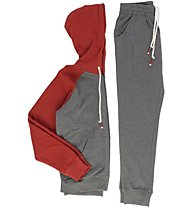Everlast Ferma Mano Trainingsanzug mit Kapuze, Grey/Red