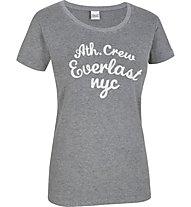 Everlast College T-Shirt Damen, Anthracite