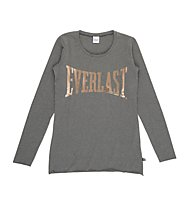 Everlast Discharged Jersey Stretch - Fitnessshirt Langarm - Damen, Grey