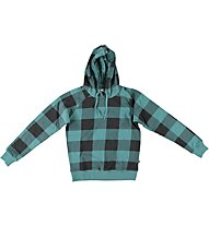Everlast Felpa Quadri - Kapuzenpullover, Dark Green/Black