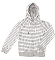 Everlast Felpa zip/Capp. Righe Bambino, Light Grey/White