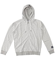 Everlast Felpa Zip/Capp. Righe - Kapuzenjacke, Light Grey