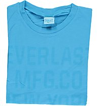 Everlast Herren T-Shirt Jersey Fluo, Light Blue