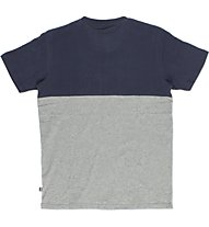 Everlast Jersey Mano Carbonio T-Shirt, Grey/Blue