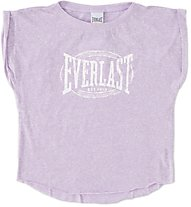 Everlast T-S M/C Stampa T-Shirt Bambina, Purple