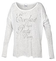 Everlast Knitt Look - Langarmshirt und Fitnesshose Damen, Light Grey