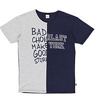 Everlast Light Jersey - T Shirt - Herren, Grey/Blue